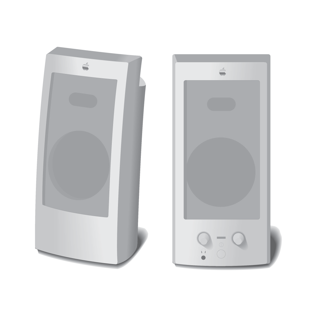 AppleDesign Powered Speakers